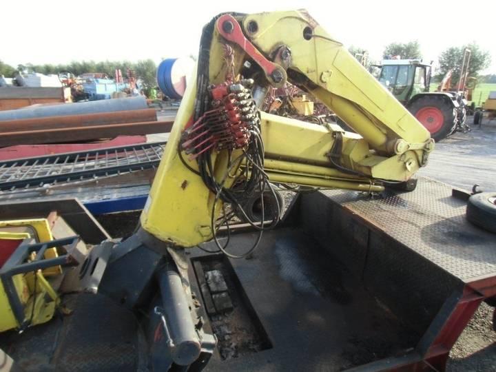 ZWARE auto/scheepskraan loader crane