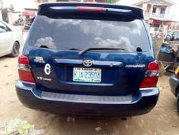 Neatly used Toyota Highlander 06 first body on sale