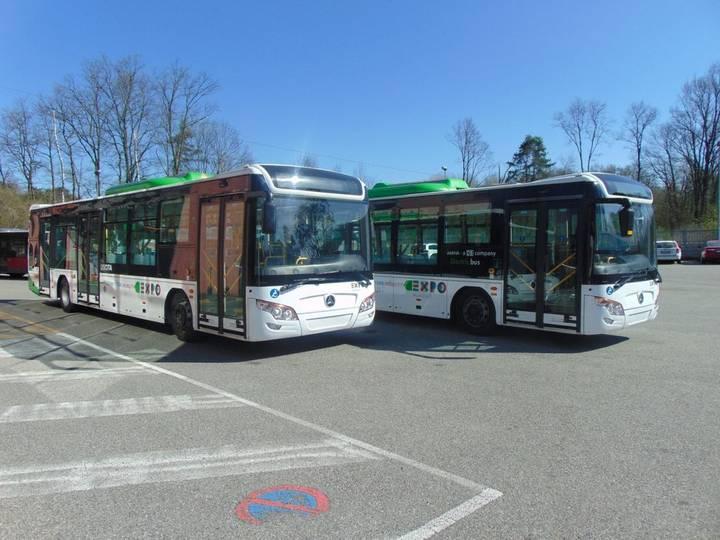 City ALFA YS120 GBEV Elettrico  bus - 2016