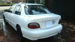 Hyundai accent 1998 Complete car breaking for spares