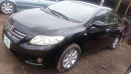 Used Toyota corolla sparkling body 2010 model