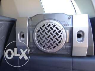Fj cruiser Subwoofer & Equipment i