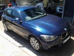 2014 BMW 118i 1-series Automatic with 19000km full service history