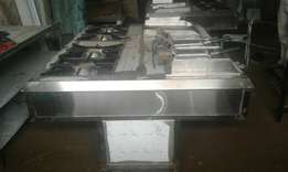Commecial Gas Cooking Range