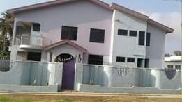 9 bedroom store building with 3 bedrooms boys quarters