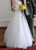 be84398495 Cudna suknia slubna !!! swarovski
