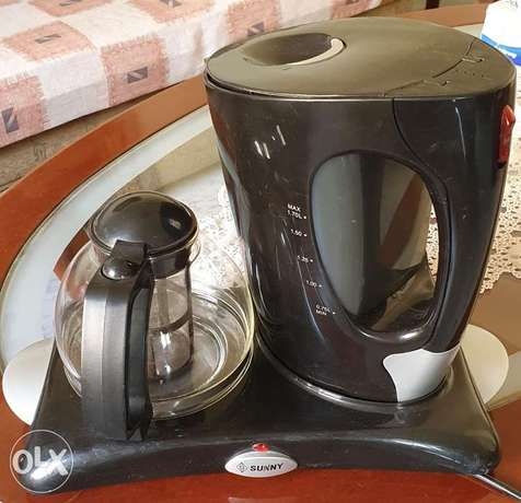 (125000 L.L) Sunny Electric kettle