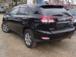Toyota Harrier black colour 2010 model leather interior clean