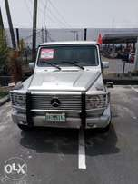 Super and executive silver 2008 Mercedes Benz G500 at Lekki N8.5m