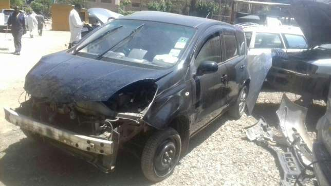Nissan note KBY with minimal damage on front part Industrial Area - image 1