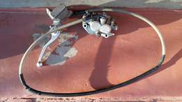 Honda CRF250R / CRF450R 2007 complete front brake system for sale