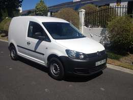 2013 VOLSWAGEN CADDY 1.6i panel van good for for work