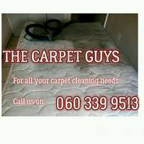 Cleaning of carpets & upholstery