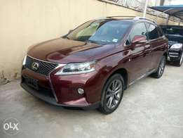 Almost brand new Toks 2014 Lexus RX350 for sale