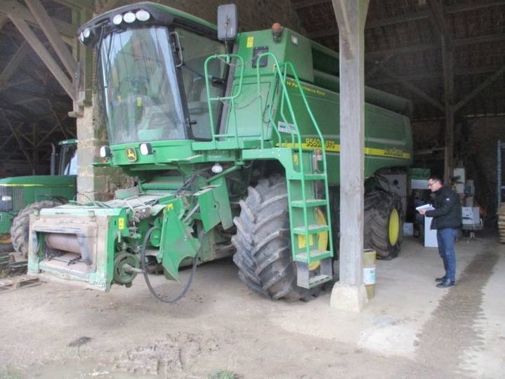 John Deere 9560i sts - 2007