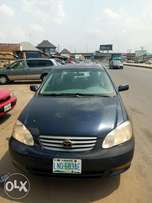 Give away Toyota corolla for sell 6 months use