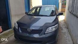 A1 clean Tokunbo Toyota corolla 2009 accident free, first body