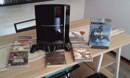 PS3 80GB Gloss with Collectors Edition Games