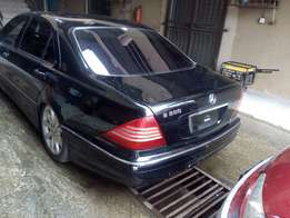 Neat Tokunbo Mercedes Benz S500, 2006 model