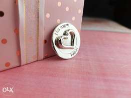 """Silver Jewellery with the words: """" I'm sorry"""" for your loved ones"""