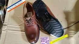 New Clarks Genuine Leather Shoes, no.8. Now Reduced.
