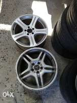 2 single amg Mercedes rims available