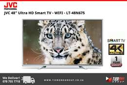 "JVC 48"" Ultra HD Smart TV - WIFI"