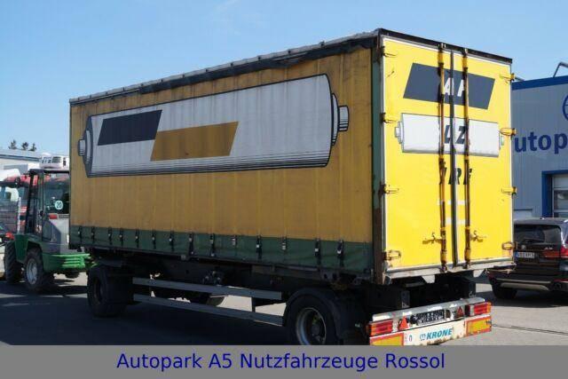 Krone Anhanger F.ATL 20 Pritsche + Plane - 2008