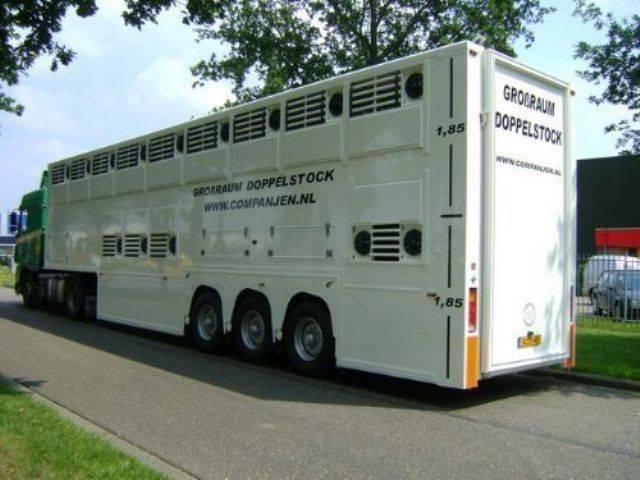 Gray and Adams  Doppelstock Companjen Cattle Carrier - 2007