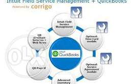 Quick books Accounting system installation and support training
