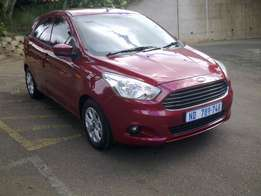 2016 Ford Figo hatchback 1.5 Titanium automatic, top of the range