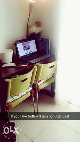 Study Table with Chairs Back to School Offer