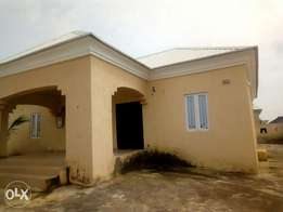 3Bedroom Bungalow (all rooms ensuite) with Guest Toilet at FHA, Lugbe.