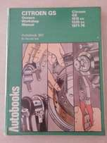 Owners Workshop Manual Citroen GS 1971 to 1976