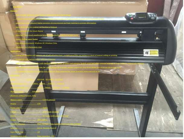Best Selling Cutting Plotter only for R 6500.00 Cash only Edenvale - image 4