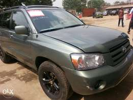 Very clean Reg 2006 Toyota Highlander