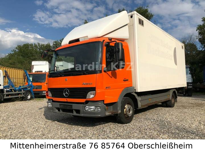 Mercedes-Benz Atego 813 mit Ladebordwand - 4x2 atego 2 - - 2008