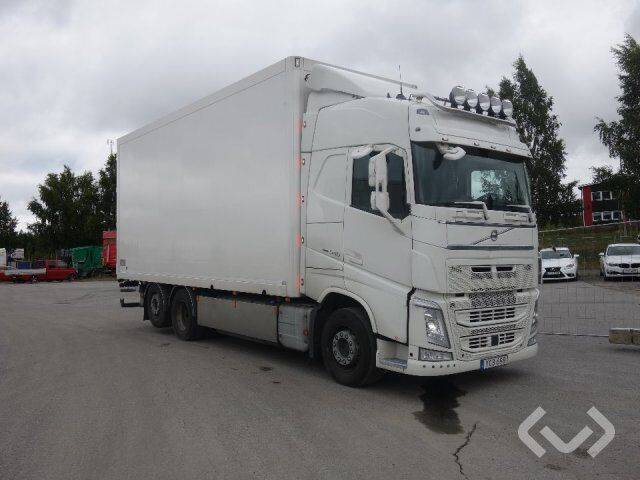 Volvo FH540 6x2 Box (side doors + tail lift) - 16 - 2019