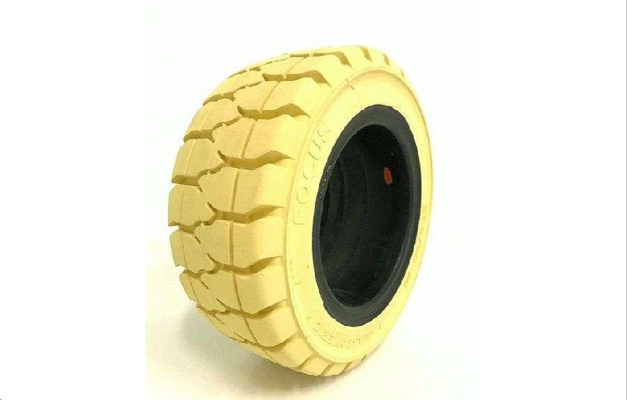 Elastomeric Focus Estándar Blanco Forklift Tyre - 2018