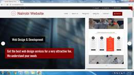 Custom web development 5k only