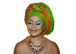 Ayaba Gele & Smokey Eyes Makeup Training
