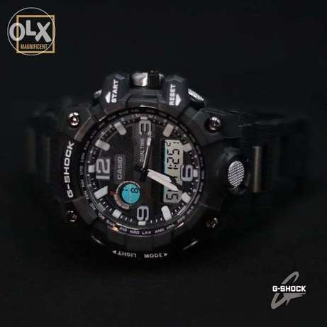 The elegant Casio G-Shock watch, now available in black and white دار السلام -  2