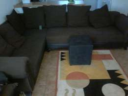 7 seater L shape lounge set for sale and other household stuffs urgent
