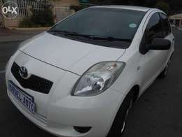 2008 Toyota Yaris T3 Trendline For R70000