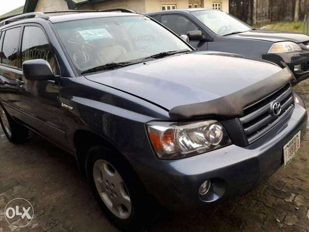 Clean Bill 2006 Toyota Highlander Lekki - image 4