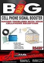Audio Corp: Cellphone Signal Booster