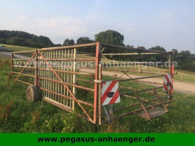Viehfangwagen, Umtriebswagen für Treckerzug - 2016