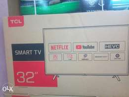 """32"""" tcl smart with netflix on offer"""