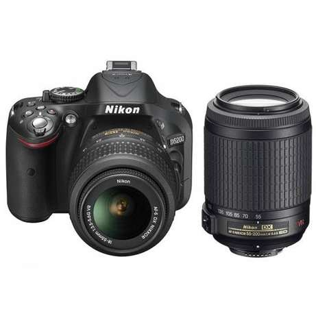 Nikon D5200 with 2 lenses Westlands - image 5
