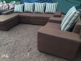 Sofa set in form of L.shepp